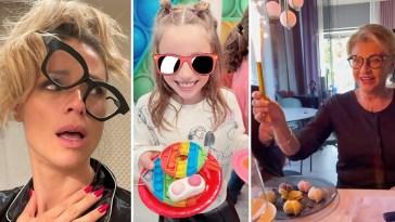 Doppia festa per Michelle Hunziker: mamma e figlia nate lo stesso giorno