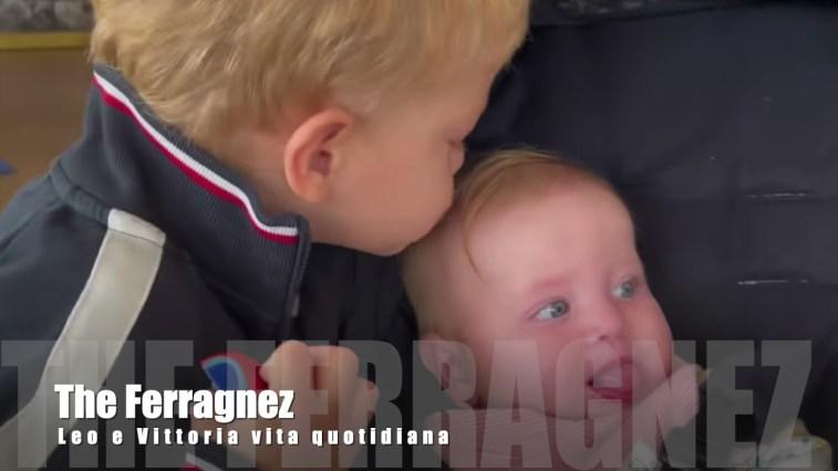 Fedez, Leo e Vittoria attimi di vita quotidiana #theferragnez #fedez #chiaraferragni