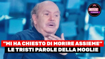 """Lino Banfi, IN LACRIME: """"Mi ha chiesto di morire assieme"""" – il triste racconto commuove tutti"""