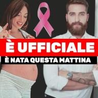 🎀 Lorella Boccia è Niccolò Presta è ufficiale è nata questa mattina