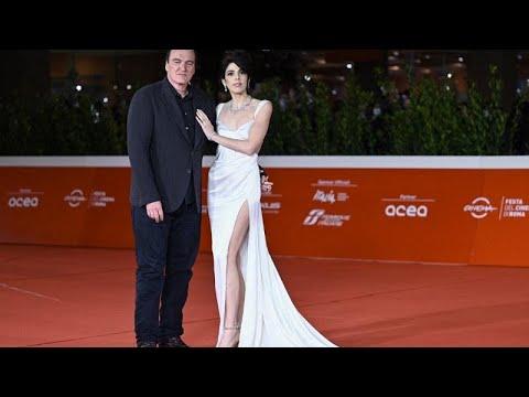 Quentin Tarantino incoronato re di Roma alla Festa del Cinema