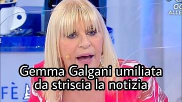 U&D:Gemma Galgani viene umiliata da Striscia la Notizia .