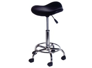 Stylist Stool Black