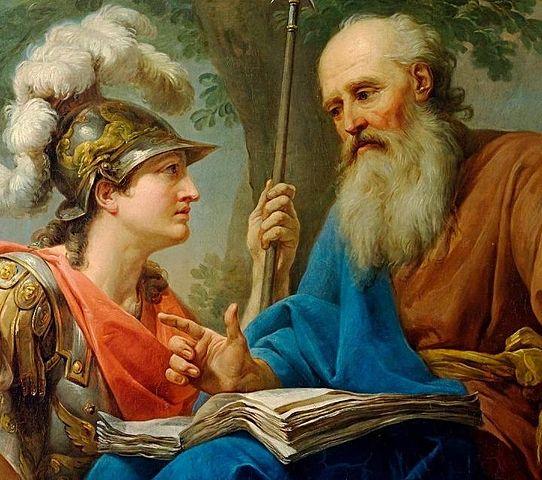 Hình minh họa triết gia Hy Lạp cổ đại - Socrates (Ảnh: Wikimedia)