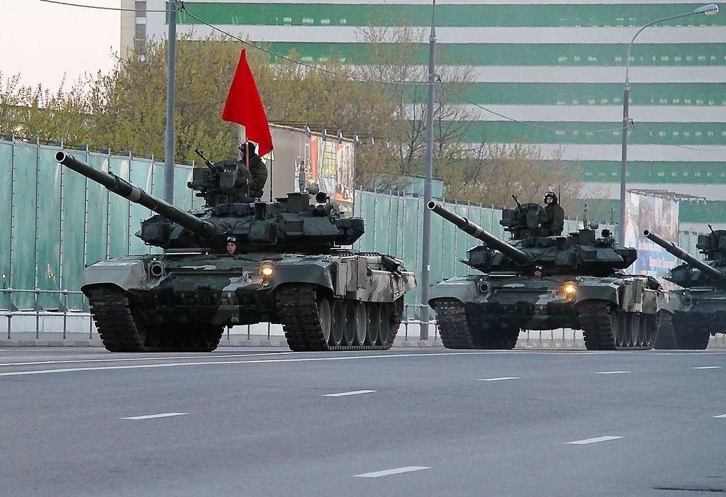 Xe tăng T-90 của quân đội Nga (Ảnh: wiki)