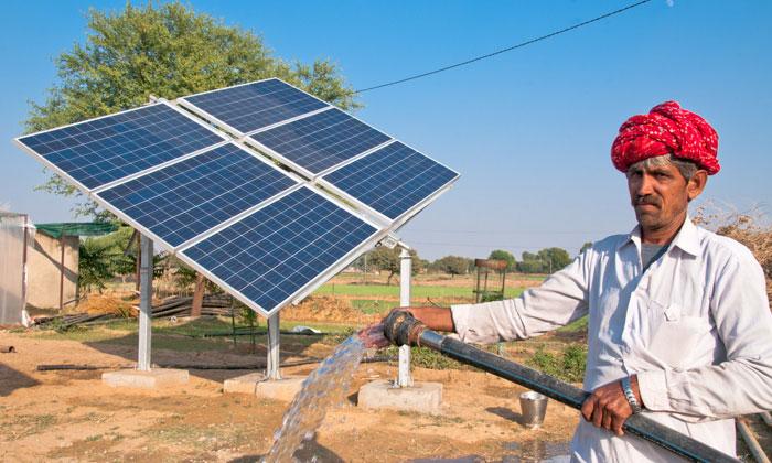 Ấn Độ hủy nhiều dự án nhiệt điện than, bởi điện mặt trời đã trở nên quá rẻ (ảnh qua cleantechnica.com)