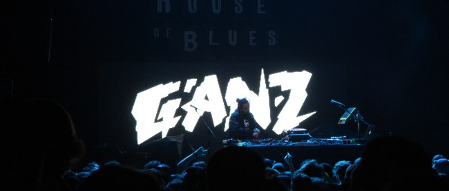 Ganz takes the stage at the House of Blues.