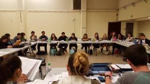 Cast and crew (Jennifer Alcalde / Muir Musical)