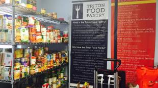 The Triton Food Pantry aims to provide a discreet emergency resource for students with food insecurity. (Photo courtesy of Triton Food Pantry)