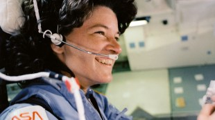 Former UCSD Physics Professor Sally Ride became the first American woman to fly in space on June 18, 1983. Photo courtesy of NASA.