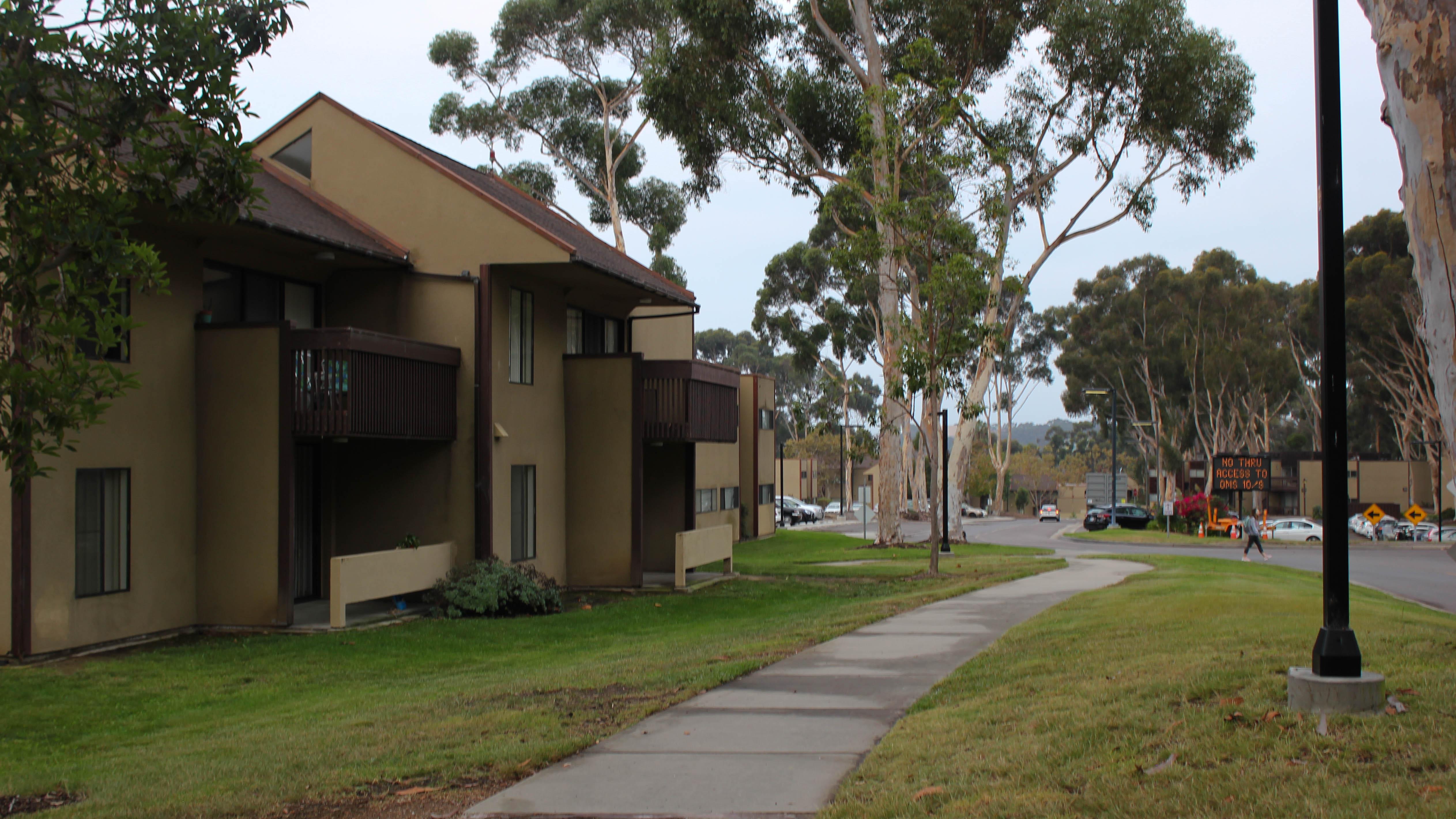 Mesa Housing. Connor Gorry / The Triton.