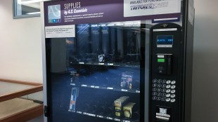 The Geisel AS Essentials Vending Machine. (Connor Gorry / The Triton)