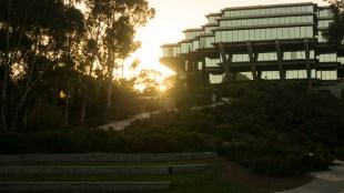 The Geisel Library at UC San Diego on Saturday, October 22, 2017 in La Jolla, California. (Rishi Deka/The Triton)