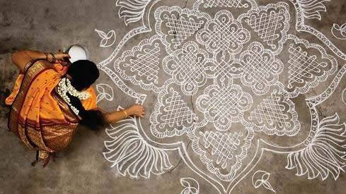 Learn about KOLAM, an art practice native to the woman of Tamil Nadu, India from guest lecturer Dr. Vijaya Nagarajan. ($5 with student ID)