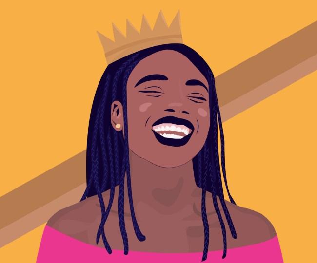 A graphic of Kiyahna Brown