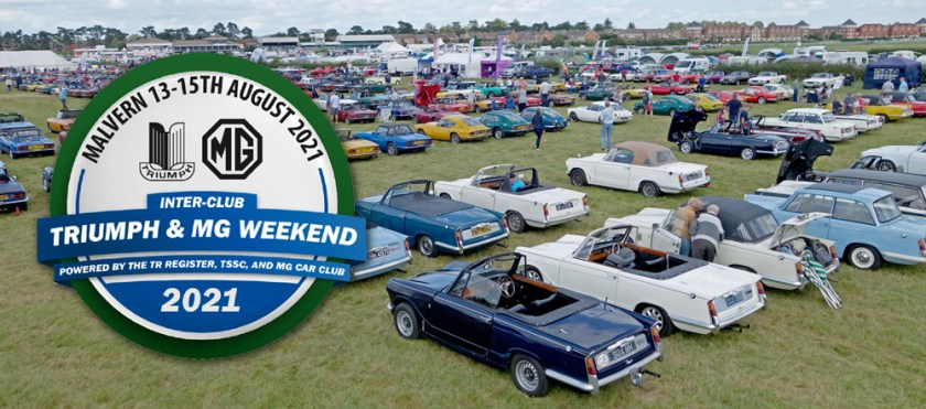 Triumph and MG Weekend | Malvern | 13th-15th August 2021