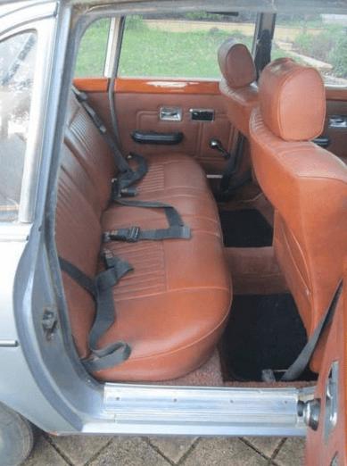 Rear seats look unused