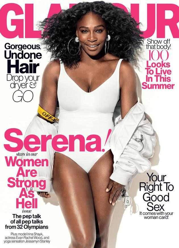 Serena Williams Glamour magazine
