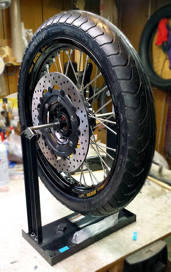 Wheel Mounted Balancing Rings