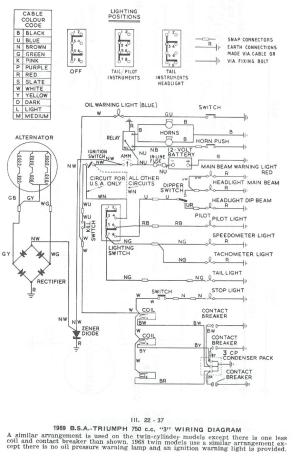 Triumph Tr4a Wiring Diagram  Wiring Diagram Pictures