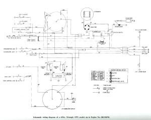 SOLVED: I need a wiring diagram for a 1971 triumph  Fixya