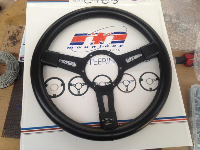 Opinions On Wood Steering Wheels : TR6 Tech Forum