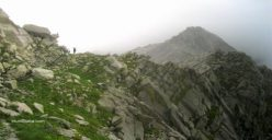 Indrahar Pass ahead Laka and Triund
