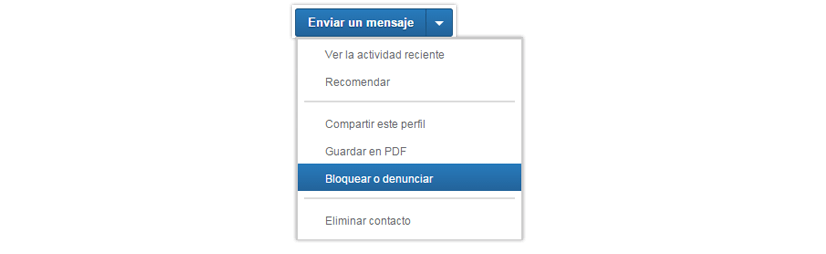Cómo bloquear contactos en LinkedIn