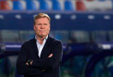 Ronald Koeman, técnico do Barcelona