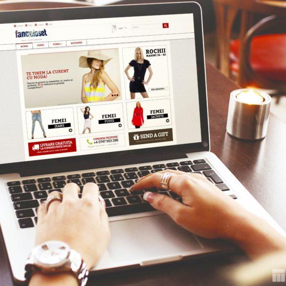 Web Design Bucuresti - Fancy Closet (fancycloset.ro)