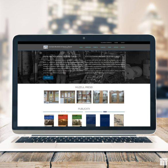 Web Design Bucuresti - Asociaţia Română de Istorie a Presei (arip.ro)