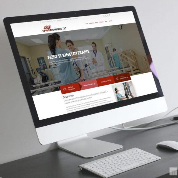 Web Design Bucuresti - Sport Diagnostic (sportdiagnostic.ro)