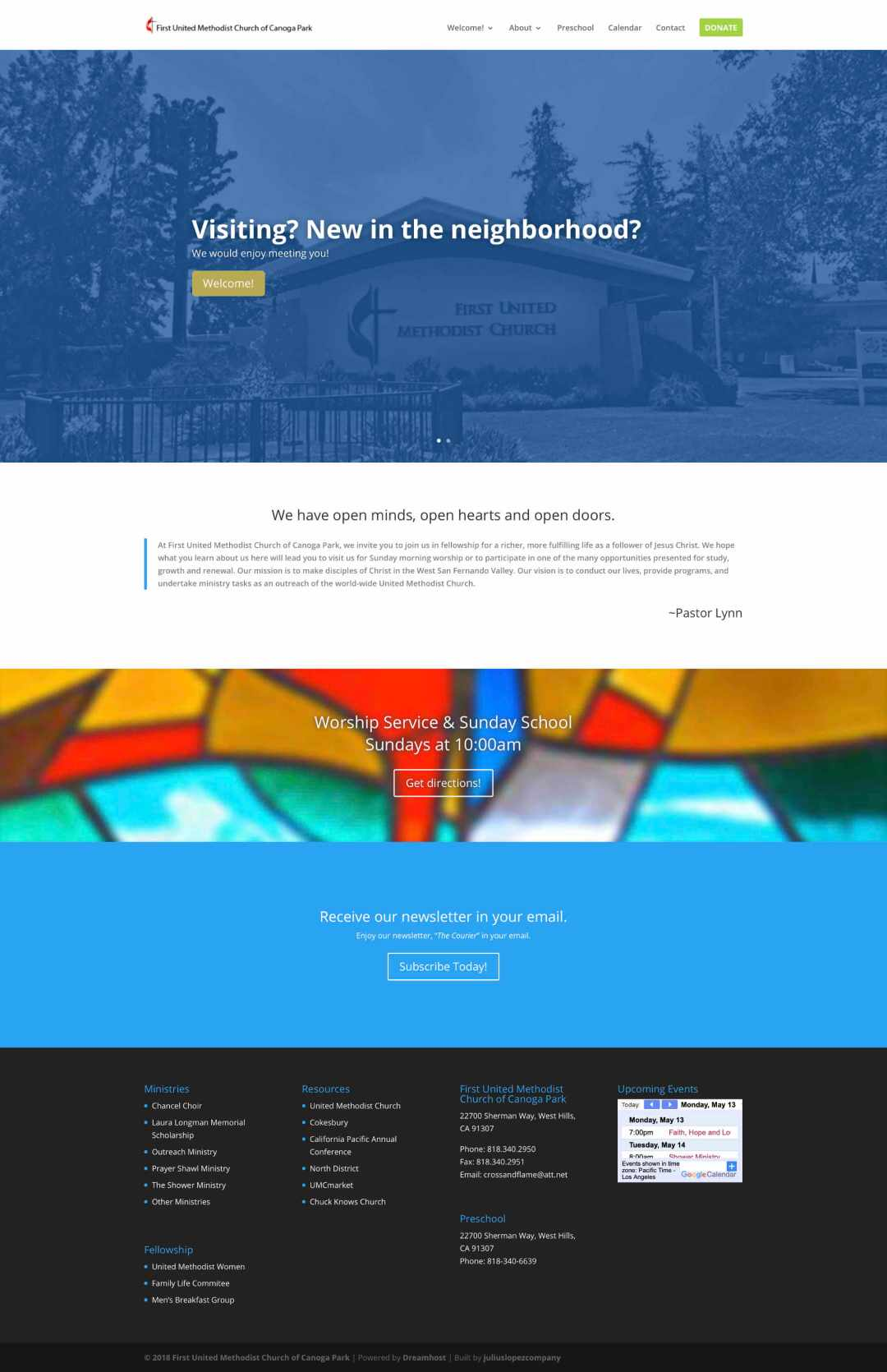 Completed Site