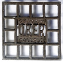 "Ober Waffle: 4 1/2"" square, CI"