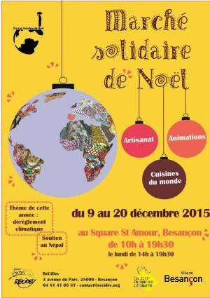 Marché de Noel solidaire