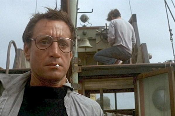 """Roy Scheider from """"Jaws"""" (Universal)"""