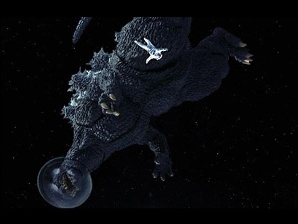 SPOILER ALERT: Godzilla is dead the whole time.