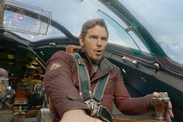 "Peter Quill (Chris Pratt) in ""Guardians of the Galaxy"" (PHOTO: Marvel Studios)"