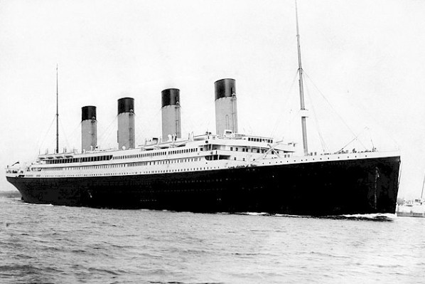 RMS Titanic (Photo: Public Domain via Wikimedia Commons)