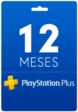 12 Meses - Cartão Virtual PlayStation Plus