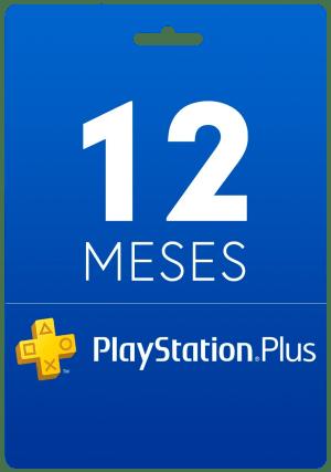 12 Meses - Cartão Virtual PlayStation Plus