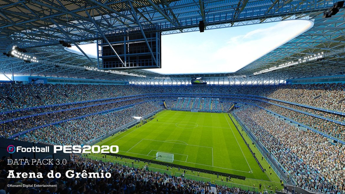 Data Pack 3.0 traz Arena do Grêmio e Bruno Henrique ao PES 2020 4