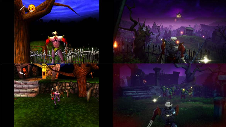 MediEvil: imagens comparam remake e a versão original 1