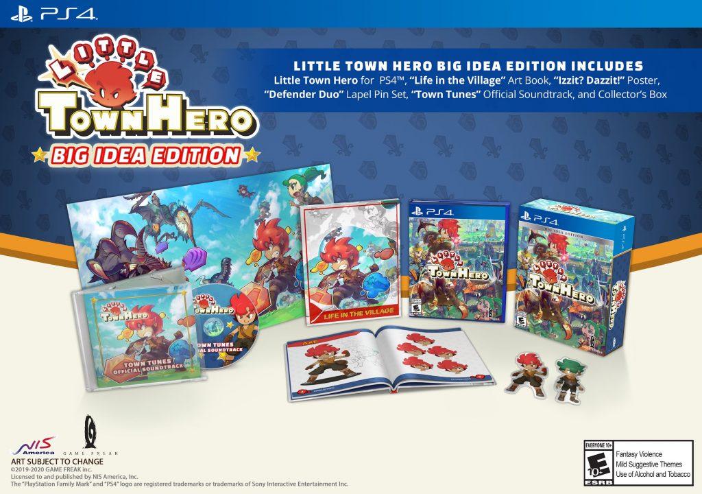 Versão ocidental de Little Town Hero chegará ao PS4 em Junho 1
