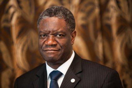 Docteur Denis Mukwege, la main sur le coeur qui  triomphe de l'adversité