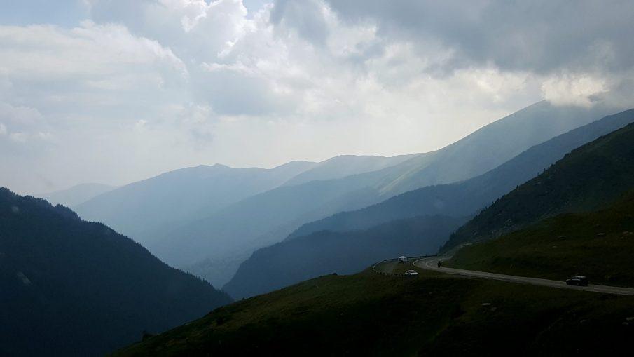 Fagarasul printre nori - Transfagarasan