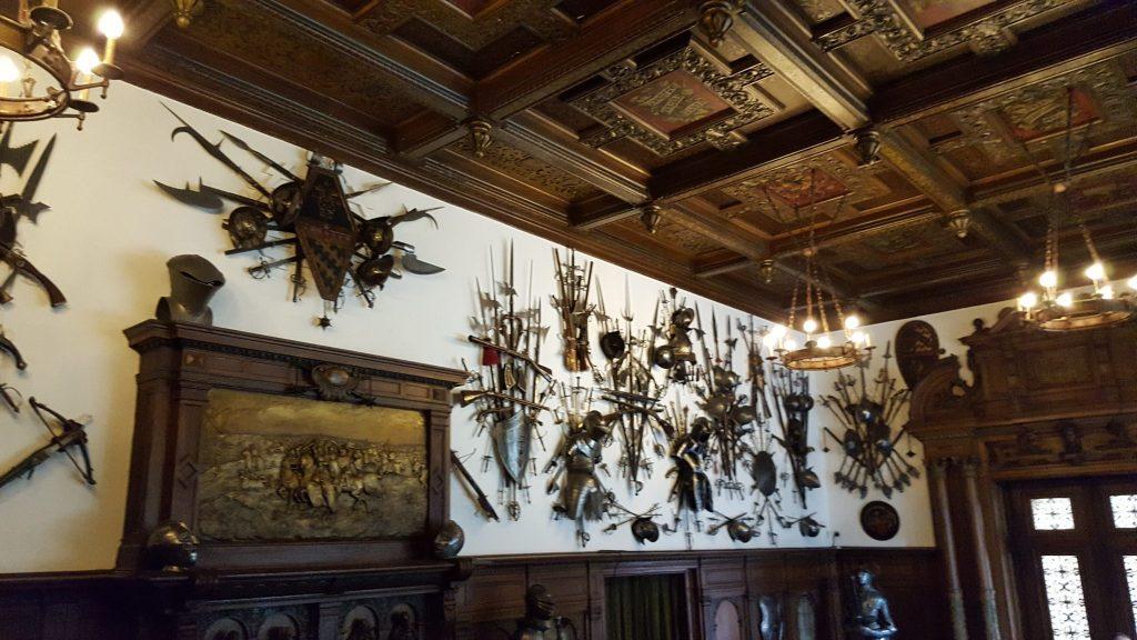 Sala de arme - Castelul Peles