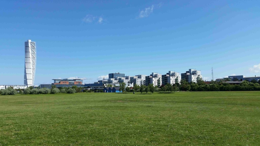 Malmo - new city and Turning Torso