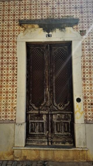 Faro old town door