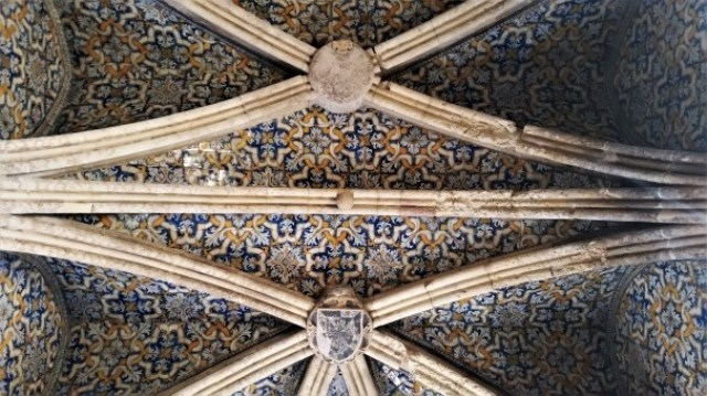Faro cathedral - ceiling
